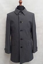 Men's grey oliver sweeney manteau trench coat rain mac taille s 38R SS8054