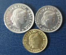 Schweizer Franken 1989 Set 5, 10 und 20 Rappen für Sammler Umlauf