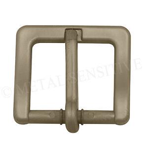 35MM Plastic Belt Buckle Non-Metallic Metal Free Nickel Hypoallergenic BRONZE