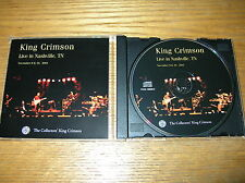 KING CRIMSON COLLECTORS' CLUB #19 - LIVE IN NASHVILLE, TN 2001 ROBERT FRIPP DGM
