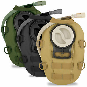 Small MOLLE Military Army Tactical Modular Hydration Pack Pouch 1.5 L w/ Bladder