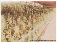 JAPAN Thousand Idols Sanjiusangendo Kyoto - Antique Coloured Albumen Photo c1890