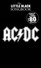 THE LITTLE BLACK SONGBOOK OF AC/DC CHORDS & LYRICS SHEET MUSIC SONG BOOK