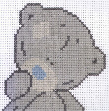 Counted Cross Stitch Kit ~ Anchor Starters - Tatty Teddy Bear Portrait #TTCS002