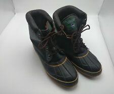 Yukon 10M Men's Winter Boots: Dark Brown - Steel Shank, Thinsulate Insole -Snow