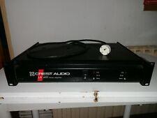 Crest audio la 601 power amplifier etapa de potencia 2 channel