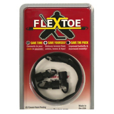 Hockey Goalie FlexToe Strap! Revolutionary Goal Pad Hook Flex Toe Lace System