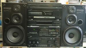 KENWOOD HiFi 5 pieces Stack system separates A-93 X-93 T-93L DP-930 P-63 LS-93