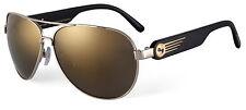Sundog 41150 Bravo Sunglasses - Gold/Black- G15 Light Gold