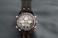montre bracelet a quartz de marque  ALPS (fonctionne)
