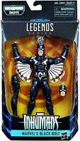 Marvels Legends Series Inhumans Black Bolt Build A Figure BAF Okoye