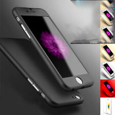Hybrid 360 Liquid Silicone Soft Ultra Thin Full Case Cover For Apple iPhone 8