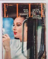 AUDREY HEPBURN Jeanne Moreau RENE GRUAU Elliott Erwitt FRENCH ELLE magazine VTG