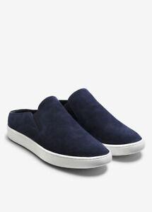 Vince Verrell Slip-On Suede Sneaker, Round toe, deepblue Size 10, $195, NWB