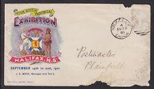 Canada, 1901 Nova Scotia Provincial Exhibition Cover, color illustration
