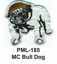 "4"" NEW MC BULL DOG -Embroidered Military Large Patch"