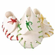 Trixie Denta Fun Dog Chewing Shoes, 10pk, Rawhide, for Puppies/Small Dogs,31447