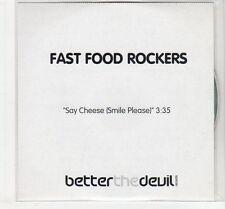 (EC552) Fast Food Rockers, Say Cheese (Smile Please) - 2003 DJ CD