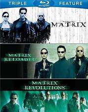 The Complete Matrix Trilogy (Blu-ray Disc, 2014, 3-Disc Set) NEW