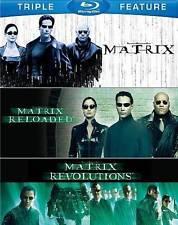 The Complete Matrix Trilogy (Blu-ray Disc, 2014, 3-Disc Set) NEW