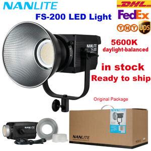 Nanlite FS-200 LED AC Monolight Bi-color 5600K COB Balanced Daylight Video Light