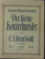 C. A. Herm. Wolff - Der kleine Konzertmeister