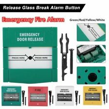 Break Glass Fire Alarm Emergency Door Release Button Switch Door Control Access