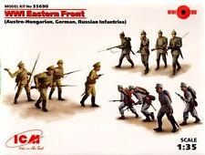 ICM 1/35 WWI fronte orientale tedesco, russo e AUSTRO ungherese # 35690
