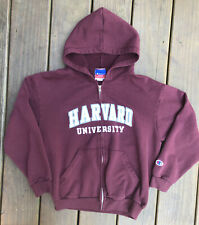 Harvard University Hoodie Sweatshirt Champion Youth Large