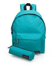 Backpack With Pencil Case Rucksack Girls Boys Work School Bag Green Sea Delbag