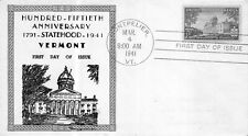 903 3c Vermont Statehood Mellone #47, Baldwin thermographed  [832772]