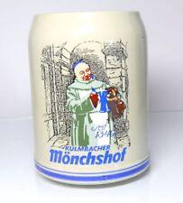 boccale birra boccale tankard Kulmbacher Mönchshof DAL 1349