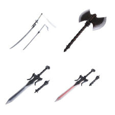5 Pack 1/6 Male Soldier Short-bladed Axe Sword for Hot Toys Phicen DML DID
