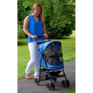 Happy Trails No-Zip Pet Stroller Water Resistant New Pet Supplies Dog Cat Bird