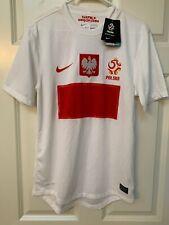 Nike Dri-Fit Poland/Polska #7 Isabella White Soccer Jeesey Size Small NWT