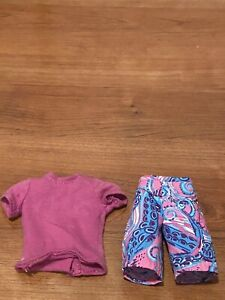 ken doll clothes outfit board shorts and shirt
