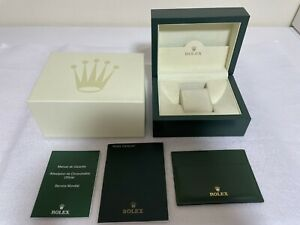 GENUINE ROLEX watch box case wave 39137.04 small box case Booklet Eng. 900083