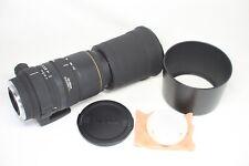 Excellent Sigma APO 170-500mm F/5-6.3 AF ASP DG Lens for Sony Minolta A Mount