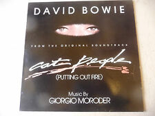 "DAVID BOWIE/GIORGIO MORODER""CAT PEOPLE Mix -disco 33 giri 12' INC-MCA UK 1982"""