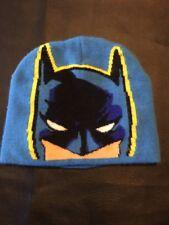 Batman Beanie Hat Sky Blue D.C. Comics Size 2T - 5T