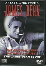 AT LAST...THE TRUTH!  JAMES DEAN DVD THE ORIGINAL REBEL WITHOUT A CAUSE