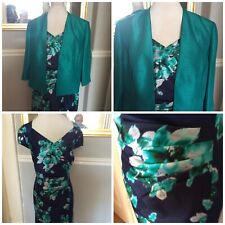 Jacques Vert Dress And Jacket Bloomsbury  Size 22 Pristine See Matching Shoes