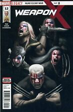 Weapon X #12 leg-contains a Marvel Stamp-Marvel-us-Comic - d605