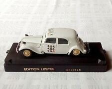 Solido Citroën Traction 15cv 9 ICCCR avec boite 1/43 Edition limitée no 00148