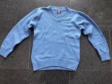 9ca6d5e739 H&M schicker Marken Pullover Sweatshirt blau warm Gr.8Y 128 134 Baumwolle