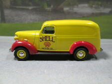 1939 CHEVY PANEL VAN  SHELL MOTOR OIL  LOOSE S SCALE DIE-CAST