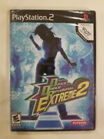 Dance Dance Revolution Extreme 2 Playstation 2 PS2 Brand New Factory Sealed NIB