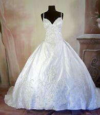 Wedding Dress Bridal Gown sz 10 In Stock Milady #52