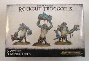 Warhammer Age of Sigmar GLOOMSPITE GITZ ROCKGUT TROGGOTHS Miniatures Minis NEW