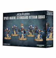 SPACE MARINE STERNGUARD VETERAN SQUAD 48-19 (GW Warhammer 40K) New Sealed